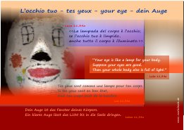 L'occhio tuo-tes yeux-your eye-dein Auge2s
