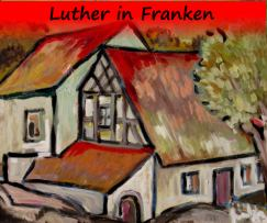 Luther in Franken-Logo